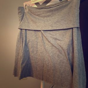 stretchy lounge skirt